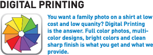 Digital T-Shirt Printing, DTG Direct To Garment Printing, Digital T-Shirts Phoenix, Tshirts Phoenix, School Shirts