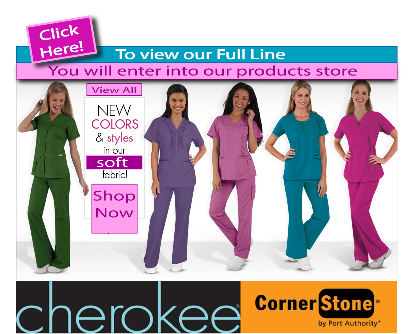 Cherokee Scrubs And Corner Stone By Port Authority San Mar