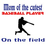 Mom Of The Cutest Baseball Player On The Fiel