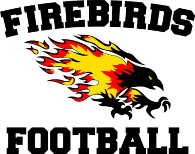 Firebirds Football T-Shirt Design Red Shirts
