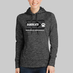 Cross Country Ladies Heather Fleece Hooded Pullover