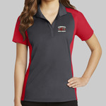 Ladies Colorblock Micropique Sport Wick ® Polo