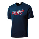 (Add Name & Number) Majors Team Adult & Youth Performance Navy Shirt