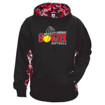 Digital Camo Softball Fleece Pullover