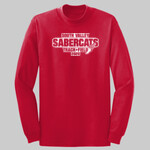 Track & Field Long-sleeve Shirt - Long Sleeve 50/50 Cotton/Poly