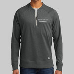 New Era Sueded Cotton Blend 1/4 Zip Pullover