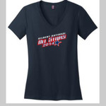All Stars Ladies V-Neck (9-10 Roster Back Design)