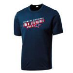 (Add Name & Number)  Adult & Youth Performance Navy Shirt