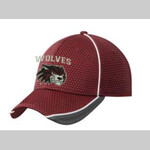 Wolves Football Embroidered New Era NE1070 Hat