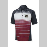 Wolves Football Embroidered Maroon ST600 Polo Shirt