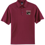 Wolves Football Embroidered Maroon Nike Polo Shirt