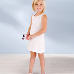 Toddler 2X1 Rib Tank Dress