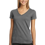 Junior Ladies Perfect Weight V Neck Tee