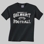 Coyotes Football Youth Black Shirt