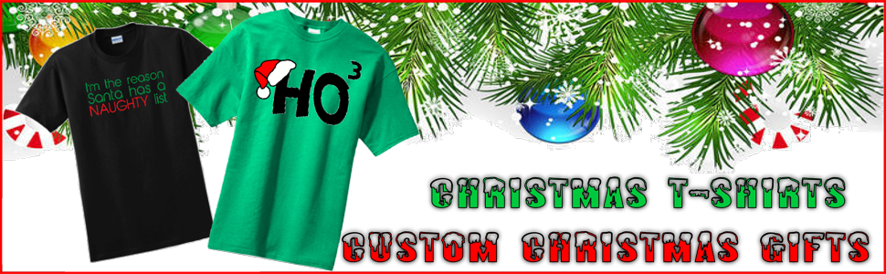 Christmas Gifts, Precision Graphics, Christmas Sweaters, Christmas T-shirts
